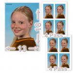 1 X 13/18 + 8 Fotos im Passbildformat