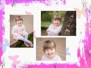 Collage III 30/40 mit 3 Bilder quer