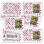 4 folding greeting cards
