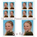 2 X 6/9 + 8 Fotos im Ausweisformat