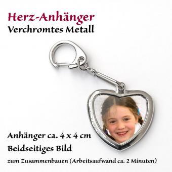 Metall-Anhänger Herz