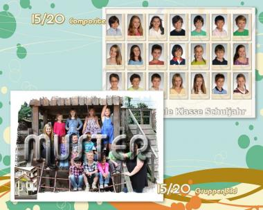 Two classpictures 15/20