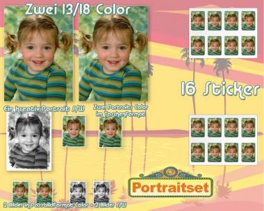 The portrait set