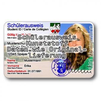 Schülerausweis Ersatz
