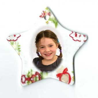 Weihnachtsstern Porzellan
