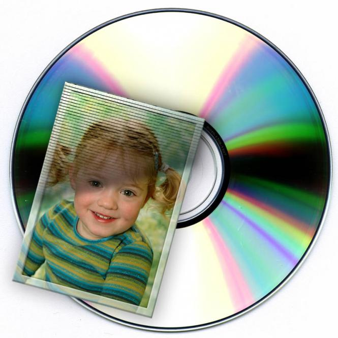 Picture-Data of the picture on CD